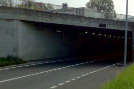 Pont Bleu à Crissier, Route cantonale 82C